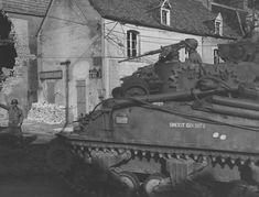 Resultado de imagem para Saint-Mère-Église   M32 ARV 1944 St. Mere Eglise France 1944