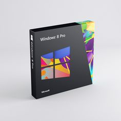 Windows 8 Packaging Design by C A T K