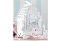 Wedding BirdCage Wishing Well / Card Holder / Vintage style / Post Box - white Wedding Card Post Box, Card Table Wedding, Wedding Cards, Wedding Boxes, Wedding Lanterns, Wedding Centerpieces, Wedding Decorations, Wedding Ideas, Wedding Inspiration