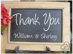 Rustic Wedding Sign Chalkboard