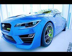 Subaru Impreza WRX Konsep di New York Motor Show 2013