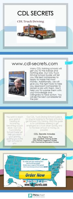 CDL Secrets. My new guide gives you all the true facts to being a #CDL trucker. www.cdl-secrets.com. Be sure you're eligible to be a trucker before spending your $'s. #CDLsecrets