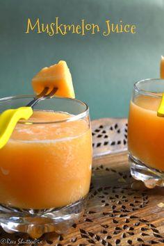 Muskmelon Juice Recipe | Mulam Pazham Juice | Summer Drinks