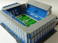 See amazing Lego versions of Anfield, Highbury, Goodison Park and more Premier League grounds Lego Sports, Goodison Park, Everton Fc, Water Management, Lego Worlds, Cool Lego, Lego Creations, Legos, Building Design