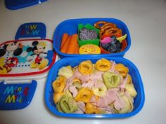Bento Lunch: Tri color tortellini bento. #Bento www.facebook.com/BentoSchoolLunches