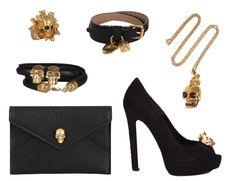 Alexander McQueen skull collection