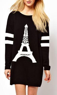 Eiffel Tower Tunic