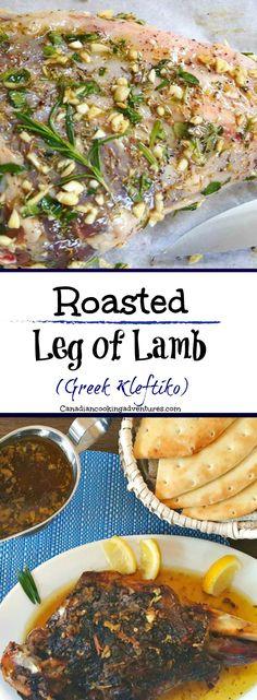 Roasted Leg of Lamb (Greek Kleftiko) #Roasted #Leg of #Lamb #Greek #Kleftiko #canadiancookingadventures #foodie #recipes #recipe #nomnom #tasty #foodblogger #easter #thanksgiving #sundaysupper #supper #dinner