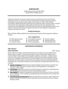 office manager resume sample - Sample Resume Skills For Customer Service