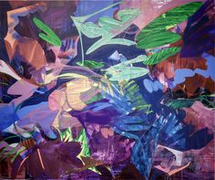 "Nicole Mueller ""Cacophony"" / 60 x 72 / Mixed media on canvas / 2016 / www.nicolemariemueller.com"