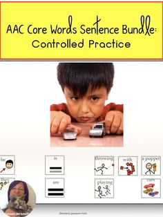 This communication symbol sentence practice for AAC users will de-streess your planning time. Made-for-you graphics with symbols to help students practice using phrases and sentences are here for you. For students who need additional practice making sentences in their communication systems or for speech therapy practice This resource includes a variety of sentence types and parts of speech. Speech Language Therapy, Speech And Language, Speech Therapy, Making Sentences, Phrases And Sentences, Communication Development, Language Development, Sentence Types, Special Education Teacher