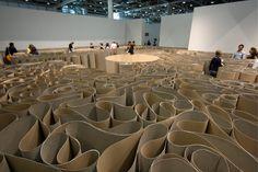 Labirinto e Grande Pozzo   Michelangelo Pistoletto, Art Basel in Svizzera,2010