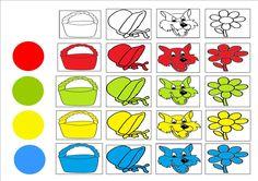 Matrix roodkapje 1 (Zie blanco matrix = herbruikbaar + volgorde altijd aanpasbaar) Pixel Art, Wolf, Album, Red Riding Hood, Little Red, Worksheets, Fairy Tales, Wonderland, Kindergarten