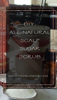 DIY: Scalp Sugar Scrub using doTERRA Essential Oils