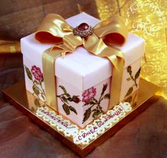 "Birthday Cakes - Cake ""Gift Box""."