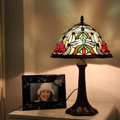 Scarab With Gemstones Bedside Lamp