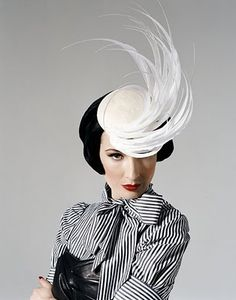 Dita von Teese, hat by Philip Treacy