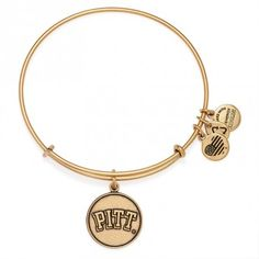 University of Pittsburgh Logo Charm Bangle | ALEX AND ANI