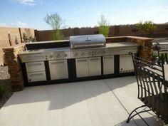 Master Forge Outdoor Kitchen Modular Set Modular Outdoor Kitchens - Master forge modular outdoor kitchen