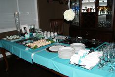 tiffany+theme+party   Archer Event Design – Breakfast at Tiffany's Themed Party