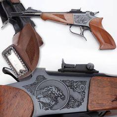 Thompson Center Contender Single Shot Pistol - NRA National Firearms Museum