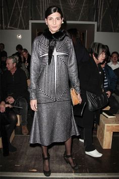 Giovanna Battaglia At Paris FashionWeek - Journal - I Want To Be A Battaglia