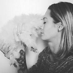 #molly #bebe #chien  #bichonmaltais #bichon #maltais #femelle #bouledepoils #girl #dog  #baby #life #love #family #new #mylove #mylife