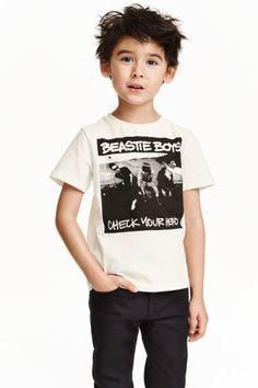 T-shirt met print   H&M