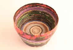 Magazine Bowl: :o I'm planing to make this for my brother as a Christmas gift, but it looks hard.