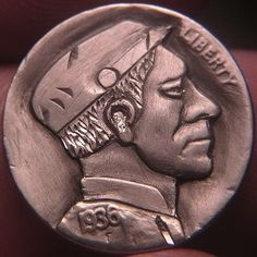 JOEY BLAYLOCK HOBO NICKEL - 1936 BUFFALO PROFILE