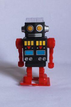 Apontador de lápis robô