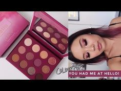 COLOURPOP YOU HAD ME AT HELLO • 3 Looks, Review + Swatches - YouTube