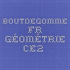 boutdegomme.fr géométrie ce2 Tech Companies, Company Logo, Math, Logos, Math Resources, Early Math, Logo, Mathematics, Legos
