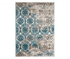 Nourison Karma Ivory Blue Indoor Area Rug (Common: 9 x Actual: W x L) at Lowe's. With its intriguing array of radiant tribal patterns revealed in artfully gradated color palettes, this wonderful collection is warm, inviting and Eastern Floral, Rug World, Tribal Patterns, Modern Area Rugs, Online Home Decor Stores, Woven Rug, Outdoor Rugs, Blue Area Rugs, Blue Rugs