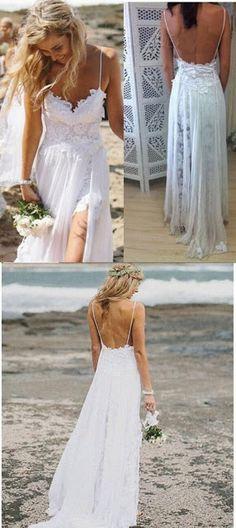 somosnovias:Vestidos de novia playeros Moda con estilo!