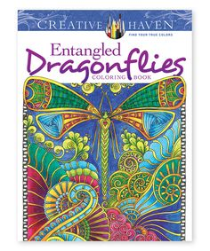 Take a look at this Creative Haven Entangled Dragonflies Coloring Book today!