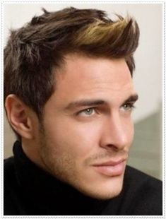 Männerfrisuren für dreieckige Gesichtsform
