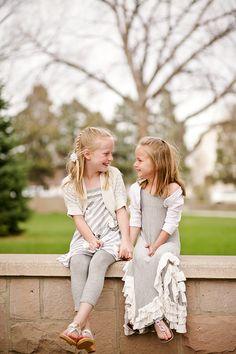 Sisters Portraits Sibling photography Kim Harms