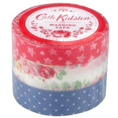 Cath Kidston washi tape {as seen on Pugly Pixel}.