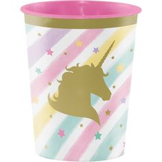 Pastel and Gold Unicorn Favor Cups/ Unicorn Birthday Party Treat Cups/ Pastel Unicorn Favor Cup 2 Birthday, Birthday Party Treats, Unicorn Birthday Parties, Birthday Ideas, Happy Birthday Girlande, Party Blowers, Party Favors, Unicorns, Pochette Surprise