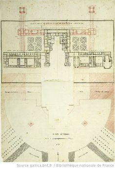 [Restauration du Château de Versailles] : [dessin] / [Boullée] - 2