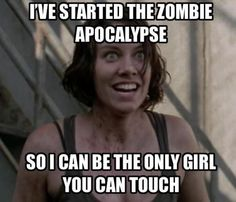 Overly Attached Post-Apocalyptic Girlfriend