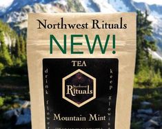 Spearmint green tea made from locally sourced organic goods. Yum! Face masks and herbal tea made in the USA by CareRituals on Etsy Tea Companies, Tea Blends, Wedding Night, Herbal Tea, Travel With Kids, Portland, Back To School, Herbalism, Face Masks