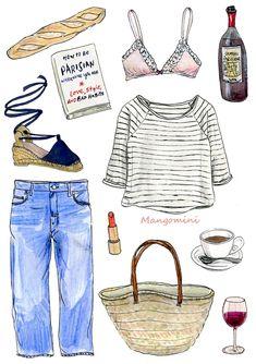 How to be Parisian-Cindy Mangomini