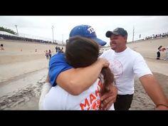Emotivo encuentro entre familias separadas en la frontera México – Estad...