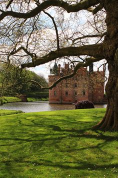 Egeskov Castle, on the south island of Funen, Denmark (history dates to the 14th century)