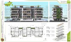 Progetto Architettonico Piano Primo Tesi di Laurea in Architettura di Alessio Pea