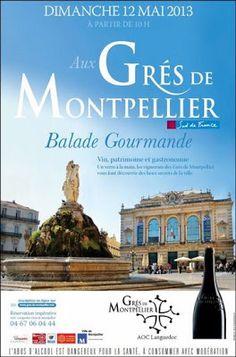 Balade Gourmande Aux Grés de Montpellier le 12 mai 2013