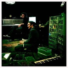 "He likes to sit like this. ""Josh Klinghoffer participates in the recording of ""The Danger Of Light"", the new album from singer Sophie Hunger Switzerland. Josh Klinghoffer, John Frusciante, Im In Love, Music Bands, Album, Concert, Switzerland, Hot, Singers"
