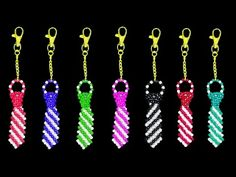 How To Make Crystal Beads Keychain Beading Projects, Beading Tutorials, Beading Patterns, Beaded Purses, Beaded Bags, Beaded Jewelry, Keychain Design, Diy Keychain, How To Make Crystals